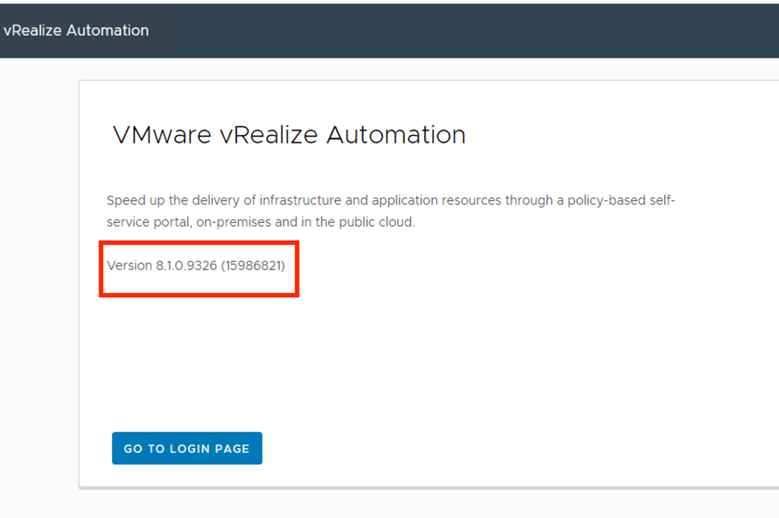 How to Upgrade vRealize Automation 8.1 using vRSLCM